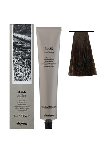Davines Davines Mask Vibrachrom Saç Boyası 6,14 Koyu Kumral Küllü Bakır 100 Ml Renksiz